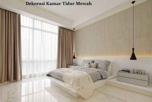 Dekorasi Kamar Tidur Mewah