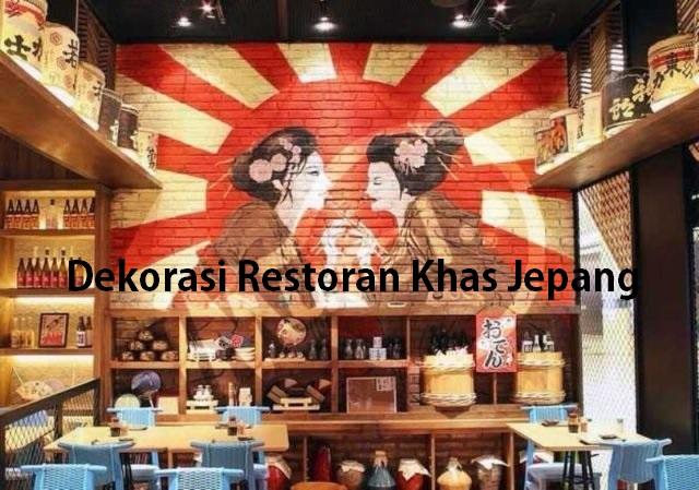 Dekorasi Restoran Khas Jepang