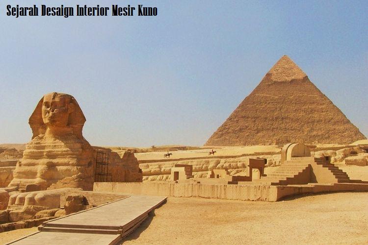 Sejarah Desaign Interior Mesir Kuno